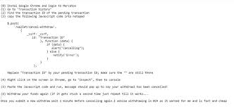 discord javascript error nano on twitter regarding mercatoxcom we are eagerly trying to
