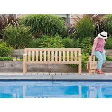 5ft Garden Bench Alexander Rose Roble 5ft Broadfield Bench Garden Benches Posh