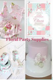 floral party supplies lifes little celebration