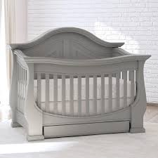 Gray Convertible Crib by Eco Chic Baby Dorchester 4 In 1 Convertible Crib With Storage