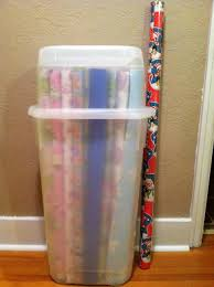 christmas wrapping paper holder storage wrap storage wrapping paper closet organizer