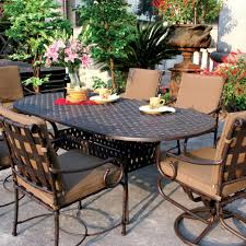 aluminum dining room chairs expandable patio table aluminum set of cast and chairs round