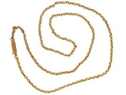 antique necklace chains images Antique chains vintage chains the antique jewellery company jpg