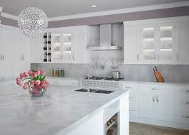 kitchen classy natural cherry shaker cabinets dove grey shaker