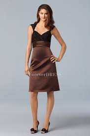 chocolate embroidery queen anna affordable cocktail dress
