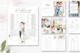 wedding magazine template shop ii by design