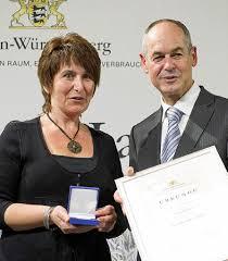 Kirchzarten: Staatsmedaille für Vera Schuler - badische- - 36092605