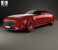 mercedes maybach 2008 mercedes benz vision maybach 6 2016 3d model hum3d