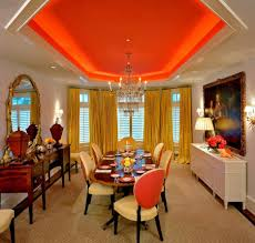 glamorous classic dinning space design layout introducing