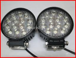 12 volt led lights waterproof new 4 5 42w 14 led 3w epistar work light off road suv atv 4wd 4x4