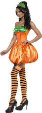 amazon women s halloween costumes amazon com fever women u0027s pumpkin costume clothing