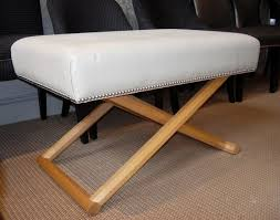 furniture charming upholstered stool for your interior design