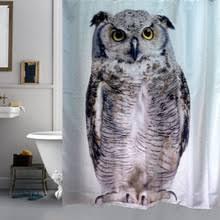 Owl Fabric Shower Curtain Popular Owl Shower Curtain Buy Cheap Owl Shower Curtain Lots From