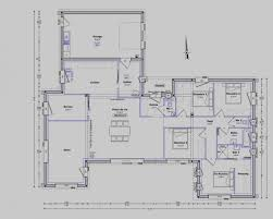 plan maison 120m2 4 chambres collection de plan maison 120m2 4 chambres plain pied other