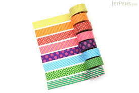 washi tape mark s maste washi tape basic colorfully colorful pattern mix