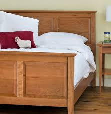 Bed With Attached Nightstands Bedroom Nightstand Shaker Style Nightstand Hemnes White Stain