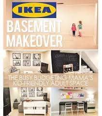Cheap Basement Makeovers by Our Ikea Basement Makeover A Kid Friendly Space At Home