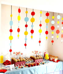 Diy 1st Birthday Centerpiece Ideas Homemade Birthday Decoration For 1st Birthday Diy 1st Birthday