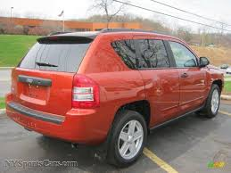 orange jeep compass 2010 jeep compass sport 4x4 in sunburst orange pearl photo 2