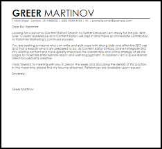 good content of a cover letter 59 for best cover letter opening