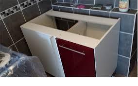 assemblage meuble cuisine meuble d angle mettre évier question