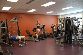 interior designs home gym design ideas come with orange wall