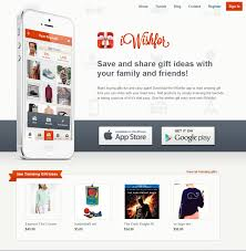 wish list app iwishfor wishlist mobile app and website design developed by