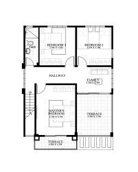 A 4 Bedroom House Carlo Is A 4 Bedroom 2 Story House Floor Plan That Can Be Built In