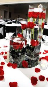 Black Table Centerpieces by N Joy Weddings U0026 Events Head Tables Wedding Centerpieces And