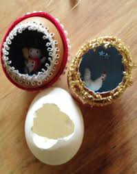 tauny celebrates the season eggshell ornament workshop
