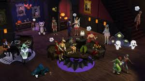 the sims 4 blog how to make a spooky house for your spooky party