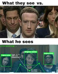 Congress Meme - robot mark zuckerberg congressional hearings know your meme