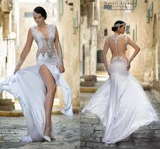 wedding dresses ta natali sisauri arabic 2016 wedding dresses sheer neck lace