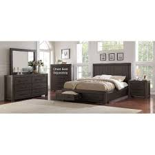 Basalt Gray Casual Classic  Piece Queen Bedroom Set Heath RC - Bedroom sets at rc willey
