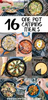 rv cuisine 16 one pot cing meals food ideas meals and easy