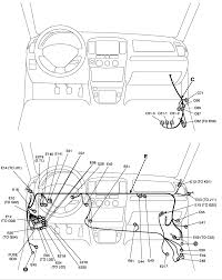 every wiring diagram i can find for a 2003 suzuki xl7 says the