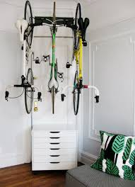 for the love of bikes at home bike storage using ikea and delta