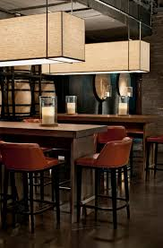 restaurant high top tables not this clean but love the idea of community high top tables i