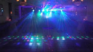 my dj lights set up