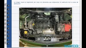 montaje kit de distribución renault kangoo 1 6 16v motor 4km