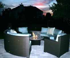 Patio Sets With Fire Pit Dining Table Propane Fire Pit Dining Table And Chairs Patio