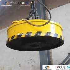 super strong electromagnetic coil lifting equipment for vertical