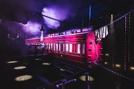 derren brown u0027s ghost train rise of the demon launch event at