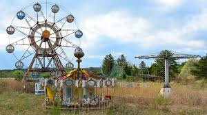 eerie footage of decaying abandoned theme park youtube