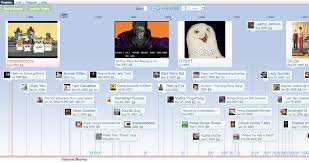 Internet Meme Timeline - this timeline shows that memes have been around since the