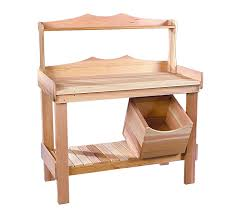 Merry Garden Potting Bench by Amazon Com Rustic Natural Cedar 0300521 Potting Bench Outdoor