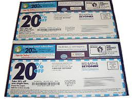 Bed Bath Beyond In Store Coupon Finding And Using Coupons At Bed Bath And Beyond Infobarrel