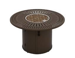 Gas Patio Table Tropitone Spectrum 43 Gas Firepit Table