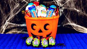 scary halloween egg unboxing kinder surprise cadbury screme egg