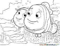 finding nemo coloring pages printable coloring pages kids
